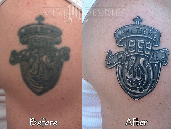 Tattoos - Fix-up Tattoo - 16549